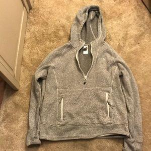 The North Face Quarter Zip Hoodie Sweatshirt